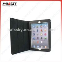 For new ipad 3rd pu leather smart cover and back splint case