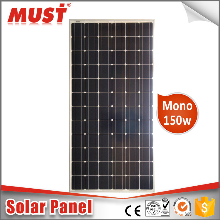 China Must High Efficiency New-Tech All Black 260W Mono Solar Module PV Solar Panel