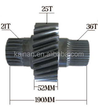 OEM 41252-1070 counter shaft gear for hino EF750