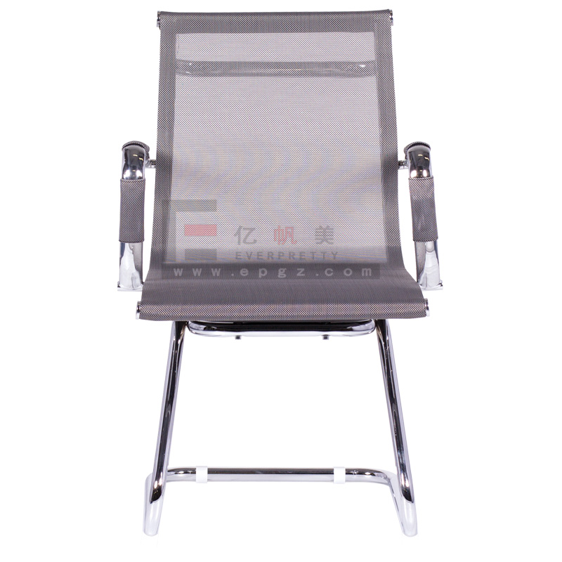 High Quality Middle Back Office Meeting Mesh Chair Without Wheels,Visit Chair