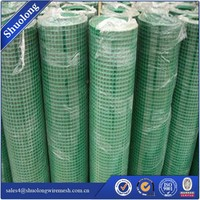 Green Garden Fence Pet Fencing PVC Coated Welded Wire Mesh