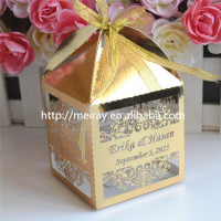 Wholesale indian wedding favors indian wedding return gift laser cut indian wedding sweet boxes