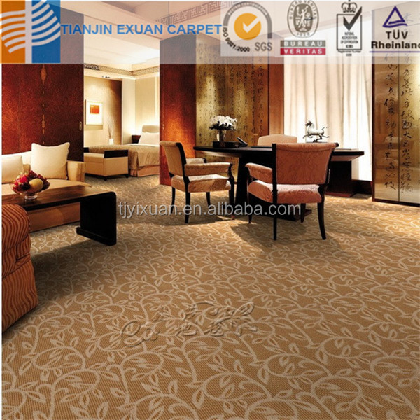 Used luxury hotel carpet
