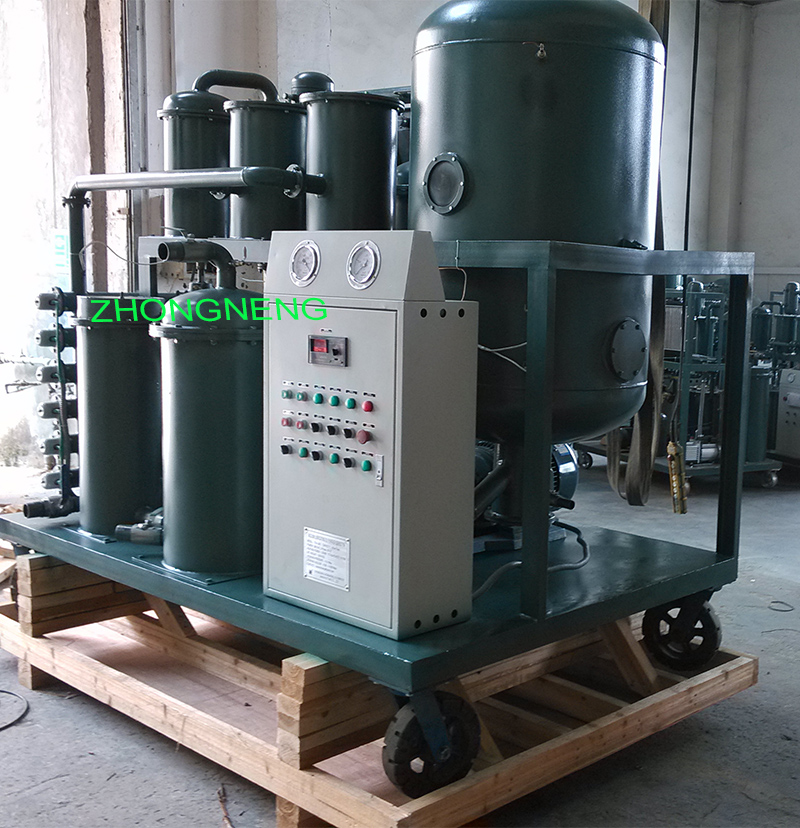 ZHONGNENG TYA Lube Oil Filtration Machine, oil filtration machine for used lube oil and hydraulic oil
