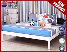metal bed without headboard simple design bedroom metal bed for two people use free style metal bed