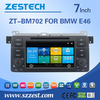 ZESTECH Dashboard placement and CE certification Car dvd GPS for BMW e46 with GPS BT 3G DVD STEERING WHEEL CONTROL
