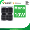 low price mini solar panel mono 10W for solar powered dancing toy