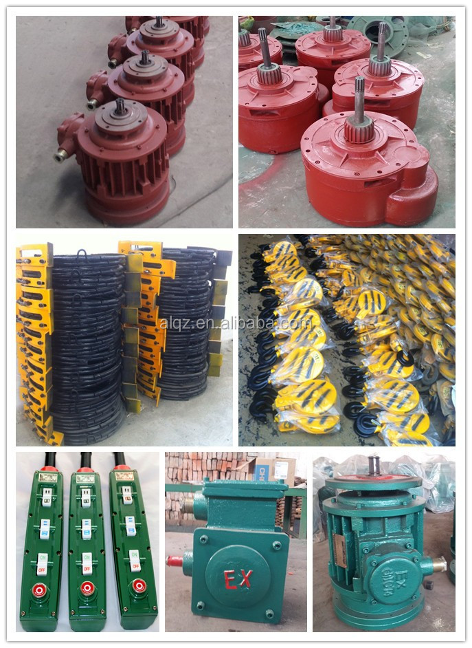 gas industry-specific explosion-proof electric wire rope hoist