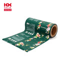 Food Grade Aluminum Film Flower Printed Plastic Packaging Film