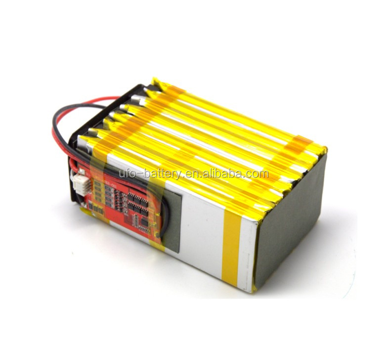 Lithium polymer 24v 4.9Ah electric bicycle rechargeable battery