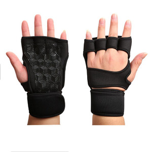 Workout Wrist Support Gym Gloves Weight Lifting Sports Exercise Training Fitness Mittens
