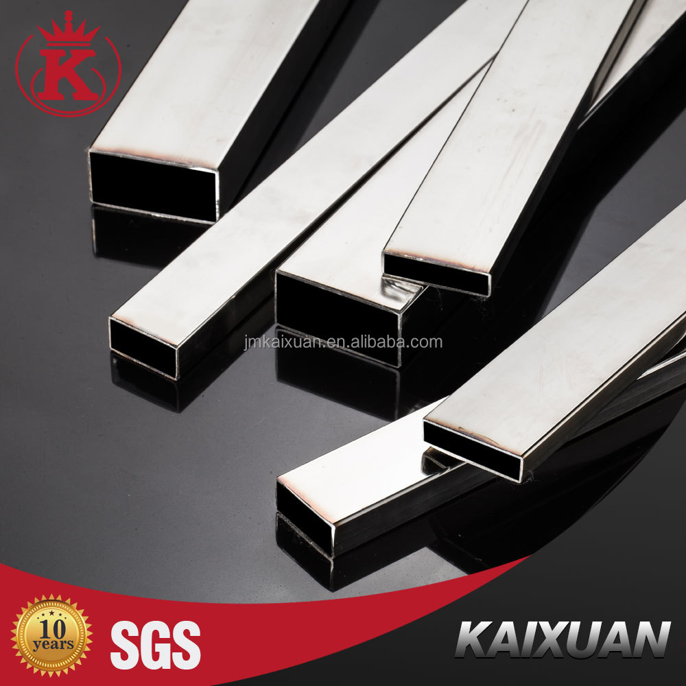 Asian china wholesale factory price supplier 201 304 316 square ss welded tube made in china rectangular mirror stainless steel