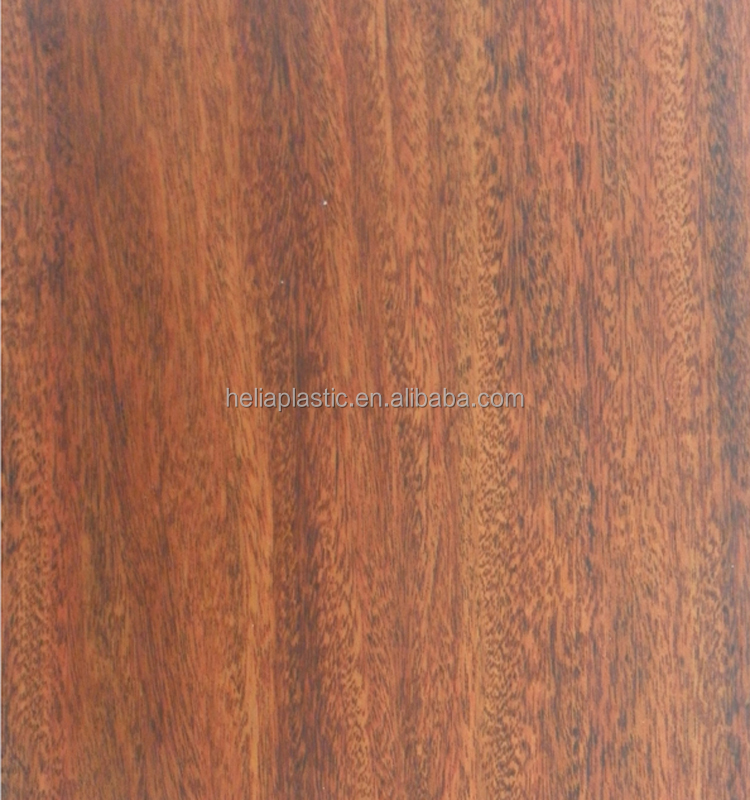 environmental decorative laminated wood grain pvc film