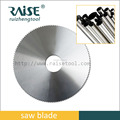 tct round cutter blade for aluminum and Stainless steel