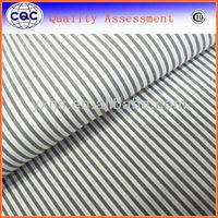 100% cotton yarn dyed candy stripe fabric for garment