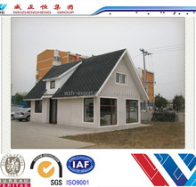 High quality villa style small house stable prefabricated villa/prefabricated luxury villa