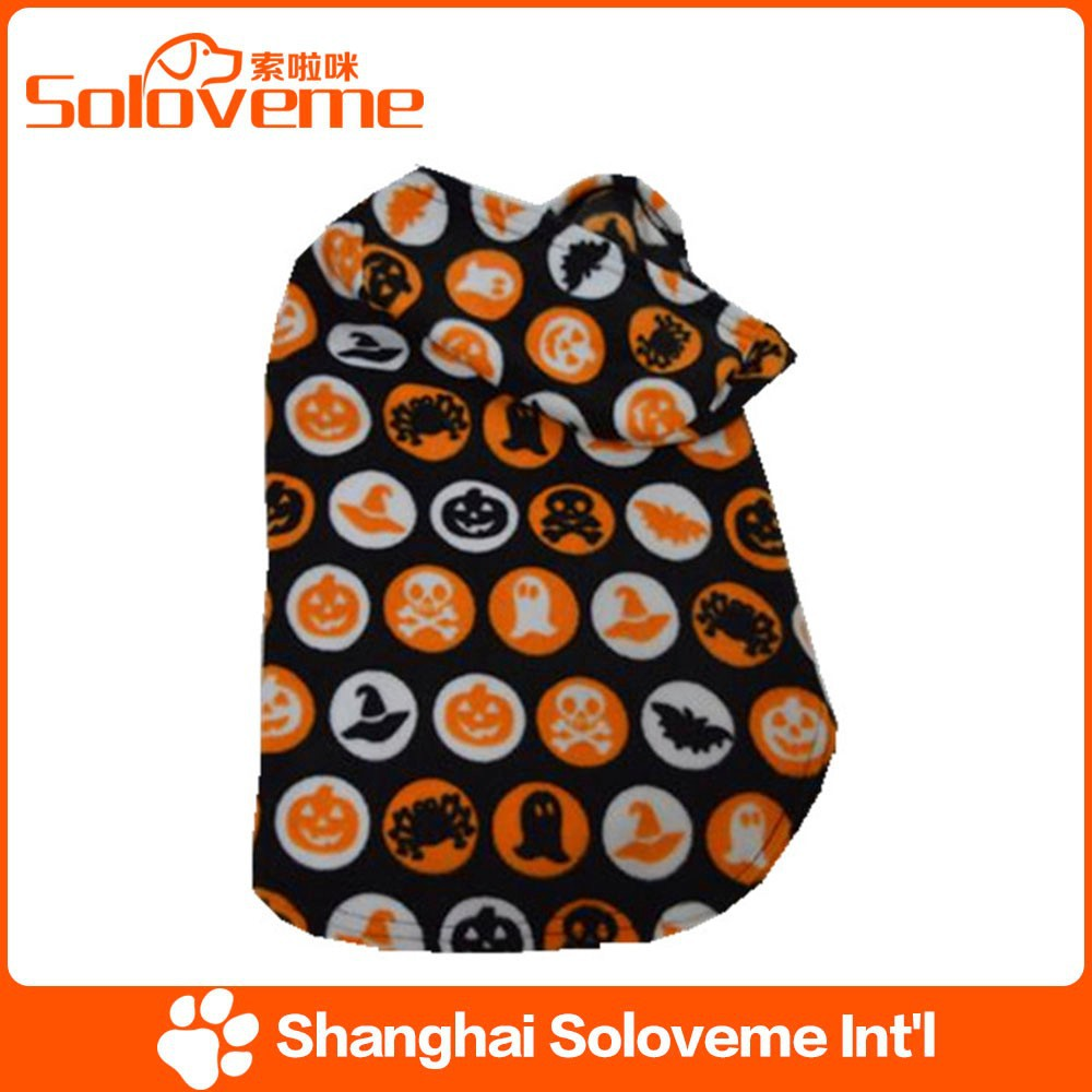Hot Sale soft pet dog fashion pumpkins hoodies 2015