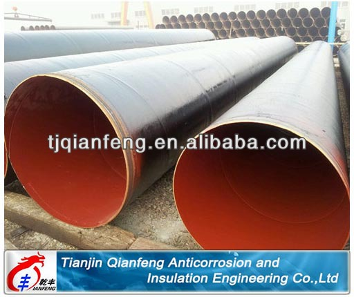 china high production epoxy coal tar pitch coating steel pipe