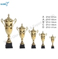 Unique Promotional Wholesale Gold Metal Cups Sports Trophy