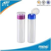 China Supplier 230ml Nail Oil Polish Remover Pump Dispenser Bottle