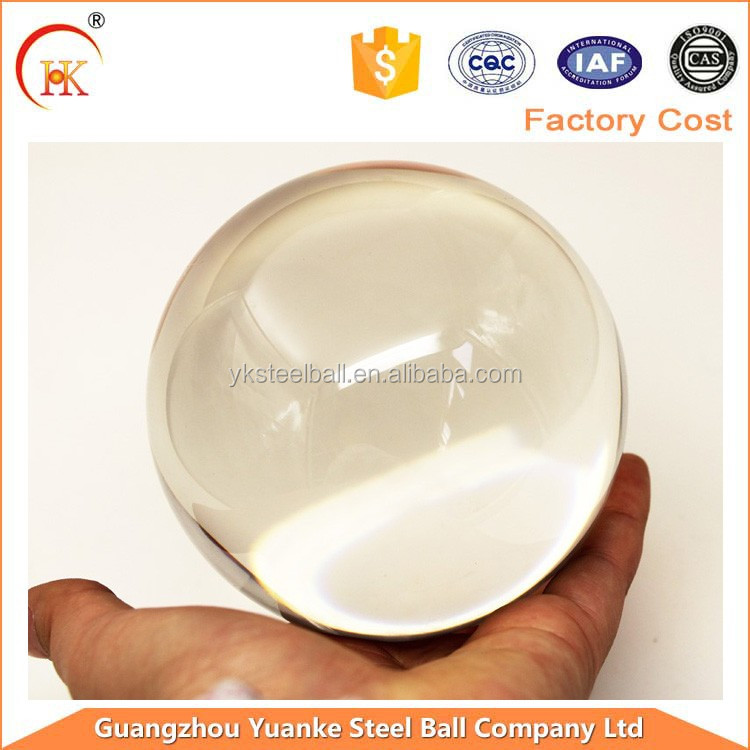 High quality Hot sale crystal glass ball, crystal glass globe gift decoration