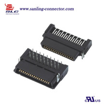 board to board connector all plastic right angle 40Pin scsi connector Female and Male