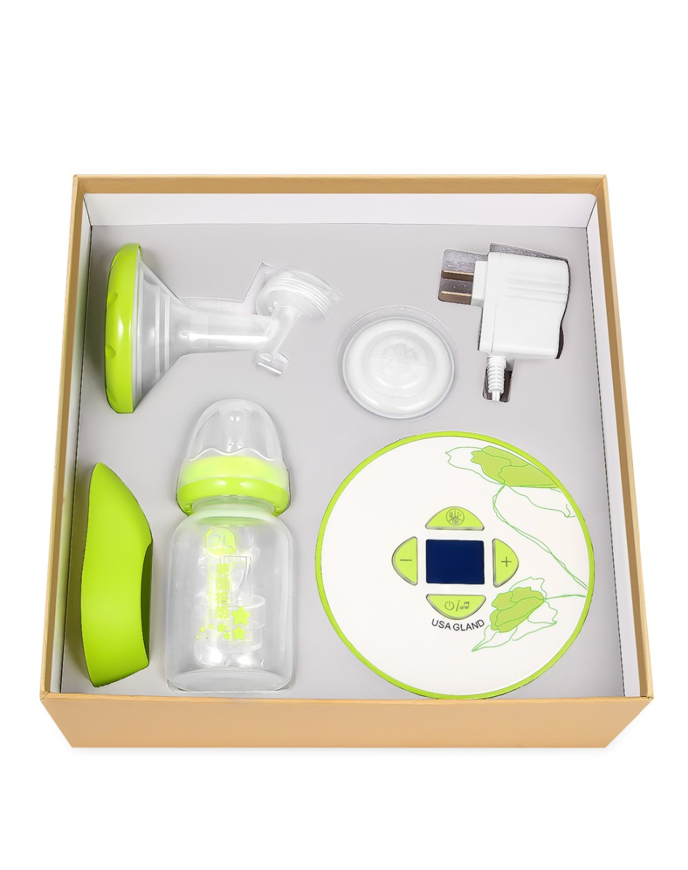 Gland breast feeding pump suction adjustable and two mode breast pump electric