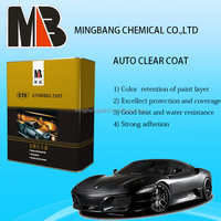 2K high solids automotive clear coat