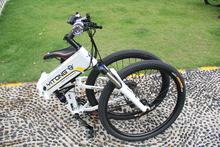 2015 new products 250W/500W 36V lithium battery 26 inch folding fat tire electric bike for sale