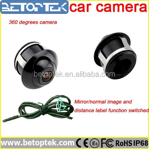 High Quality Rear View 360 Degree CCD Car Camera
