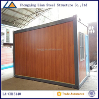 Cheap Light Steel Colorful Glass Shopping Mall Container House Plans