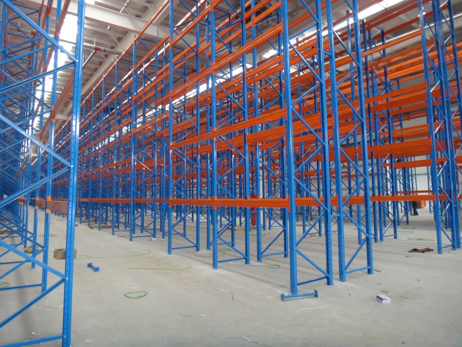 Factory and Distributor Used Warehouse Storage Pallet Steel Rack