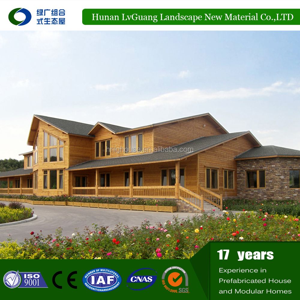 2016 new economic cheap Prefabricated log cabin wooden house for sale prices