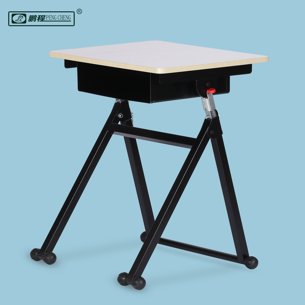 Friendly Material Height Adjustable Ergonomic School Study Desk