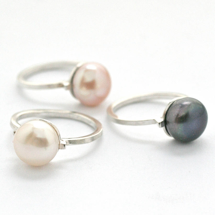 pearl ring mountings jewelry wholesale china