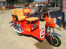 enclosed cargo passenger electric tricycle/adult electric taxi