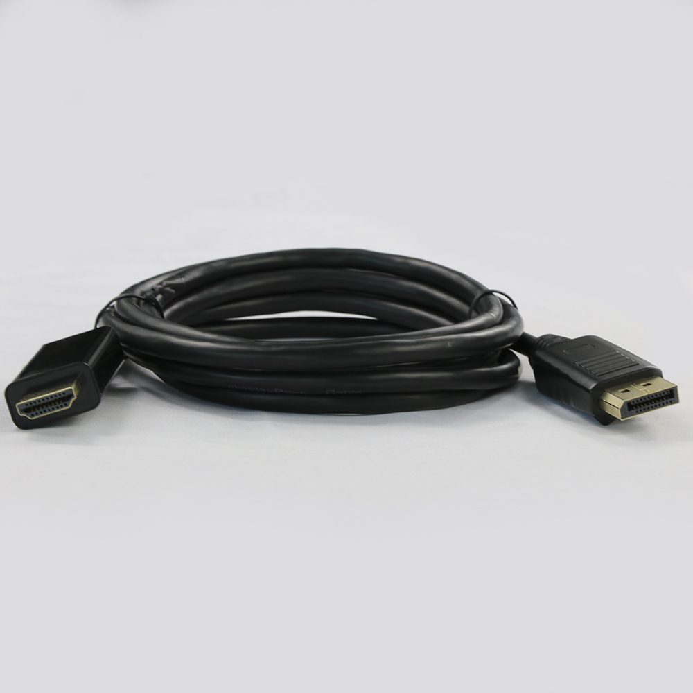 DP to HDMI Displayport to hdmi cable dp to hdmi adapter cable 1.5m 2m 3m 15m support 4k / 1080p