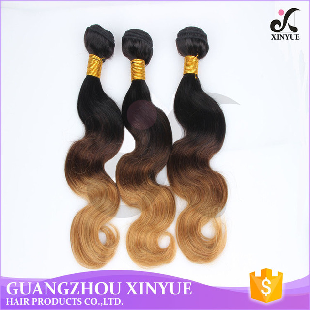 Cheap Virgin Peruvian Three Tone Ombre Color Loose Wave Human Hair Weave Bundles Prices For Wholesale