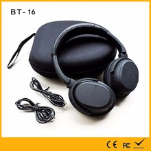 2017 most popular active noise cancelling wireless bluetooth earphone with ROHS certification for big ears