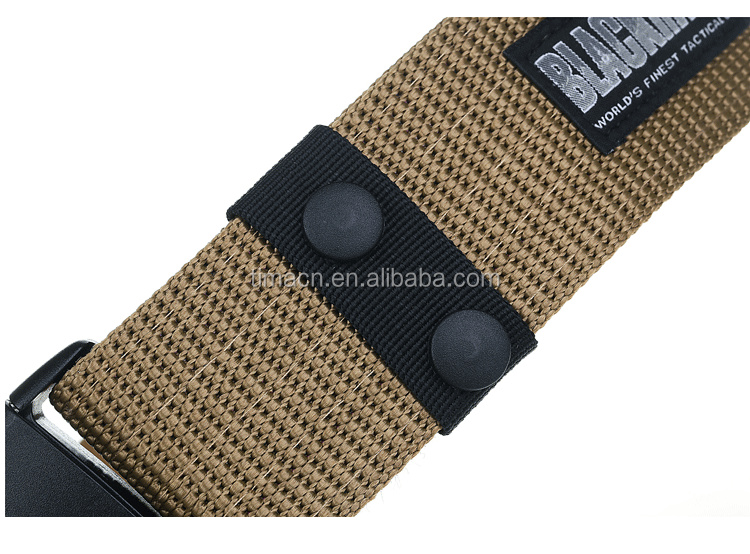 Heavy duty Nylon webbing Military Combat Bullet Buckle Military Trainer Belt