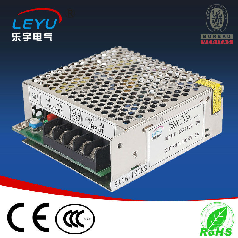 12vdc single output frequency transformer constant voltage SD-15-12 1.25A 230v ac to 12v dc dc converter