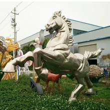 Chinese factory custom outdoor garden large horse sculpture