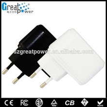 protable 7v light jack power adapter ac dc adapter with 1 year warranty