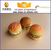 All items realistic fake bread/fake food for sale/artificial pu bread for decoration