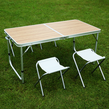 Camping picnic table and chair made in china