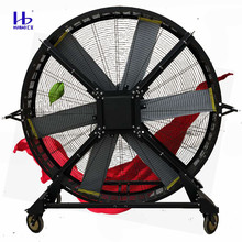220V Electric BLDC Motor Outdoor Waterproof Wheeled Mobile HVLS Industrial Stand <strong>Fans</strong>