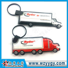 2013 promotional truck car led key chain low price Made in China