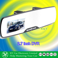 auto car parts 4.3 inch tft lcd screen + rearview mirror +car dvr XY-9618LDVR