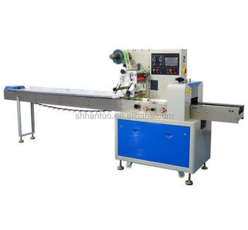 Horizontal Industrial Spareparts Flow wrapping machine for sale