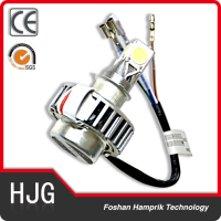 Silvery led motorcycle headlight 12V 18W universal motorcycle headlights